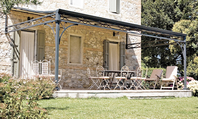 QUOTE THIS STYLE - Custom Built Wrought Iron Steel Gazebos, Pergolas, Arbors And Metal