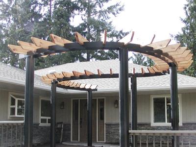 QUOTE THIS STYLE - Custom Built Wrought Iron Steel Gazebos, Pergolas, Arbors And Metal